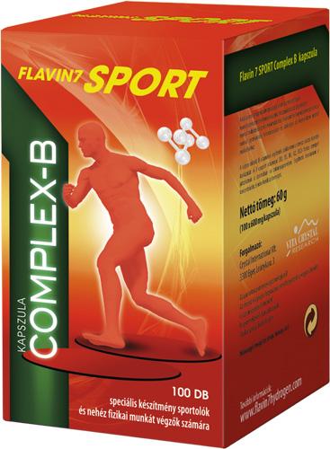 Flavin7 Sport Complex B 100 caps.