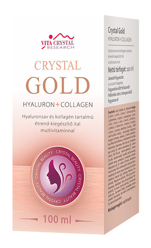 Crystal Gold Hyaluron+Collagen+multivitamin 100 ml