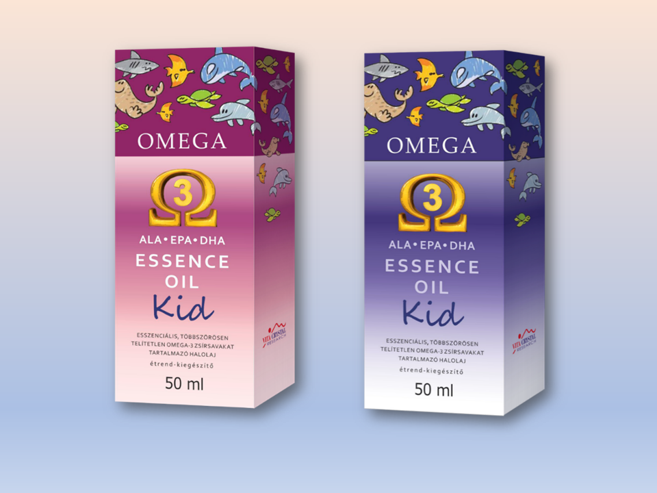 Omega-3 Essence Kid oil (50ml)