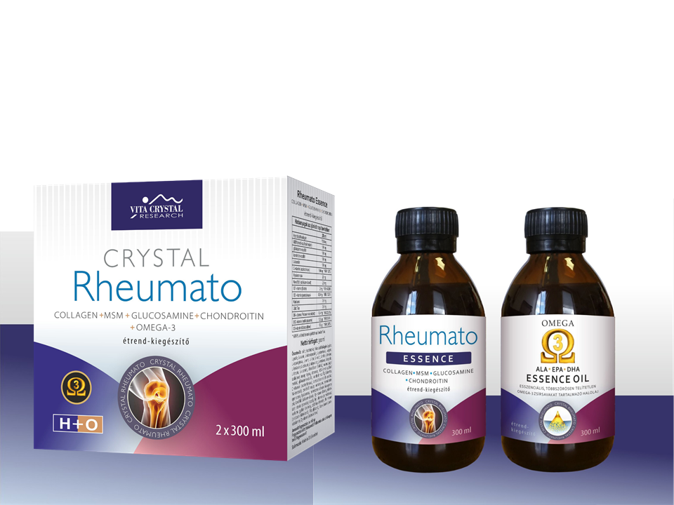 Crystal Complex Rheumato Omega-3 Essence 2 x 300ml