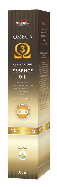 Omega3 Essence + CBD oil PREMIUM 350ml
